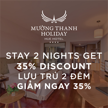STAY 2 NIGHTS GET 35 % DISCOUNT