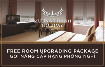 FREE ROOM UPGRADING PACKAGE